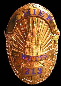 California Watts Police